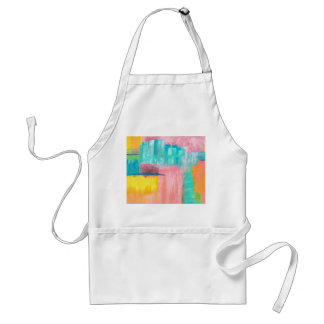 Dreamscape Abstract Art Painting Design Standard Apron