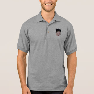 DreamySupply Young Rebel Grey Polo Shirt