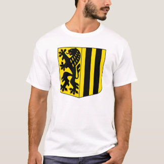 Dresden Coat Arms official Germany Saxony Symbol T-Shirt