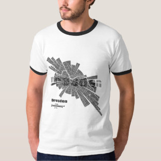 Dresden Map Ringer T-Shirt