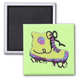 dress shoes square magnet