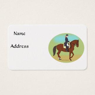 Dressage Business Card