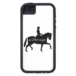 Dressage Equestrian Horse and Rider iphone Case