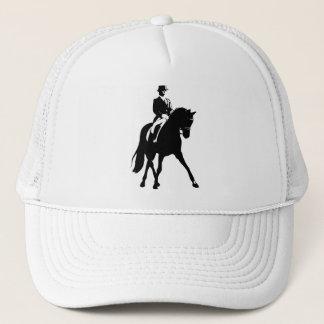 Dressage Half Pass Silhouette Trucker Hat