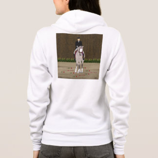Dressage Horse and Rider Hoodie