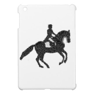 Dressage Horse and Rider Mosaic Design Case For The iPad Mini
