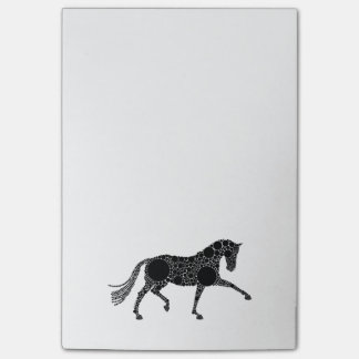 Dressage Horse Post-in brand notes