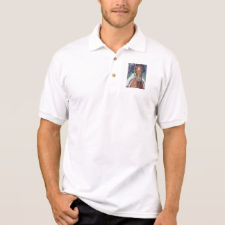 Dressage Horse Salute Polo Shirt