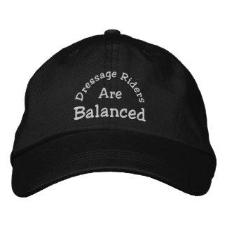 Dressage Riders Balanced Embroidered Baseball Cap