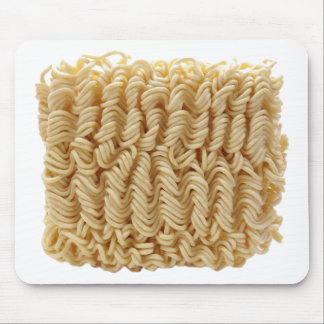 Dried ramen noodles mouse pad