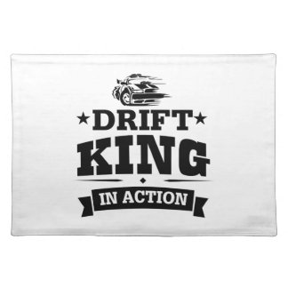 Drift King In Action Placemat
