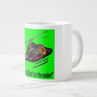 DRILLBILLY'S Oilfield Large Coffee Mug