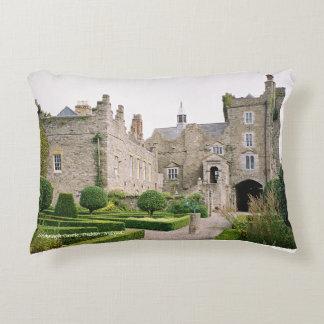 Drimnagh medieval castle, Dublin, Ireland. Decorative Cushion