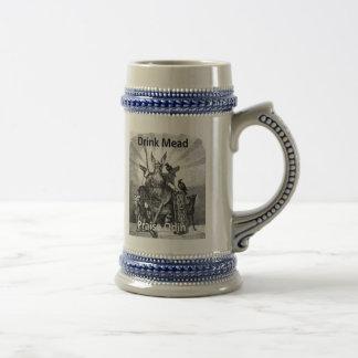 Drink Mead - Praise Odin Beer Steins