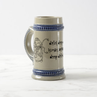 """""""Drink With Cthulhu"""" Beer Stein"""