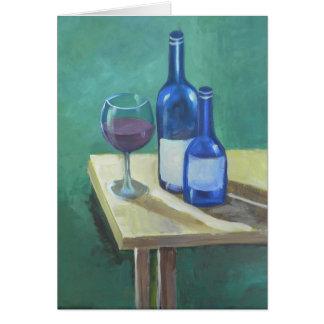 Drinking Alone II Card