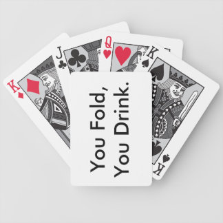 Drinking Card Deck Bicycle Playing Cards