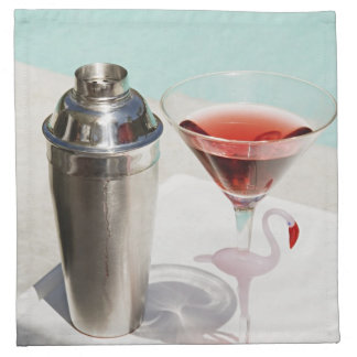 Drinks On Us Napkin