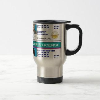 Driver's License Travel Mug