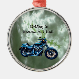 Driving to Heaven and Hell Christmas Tree Ornaments
