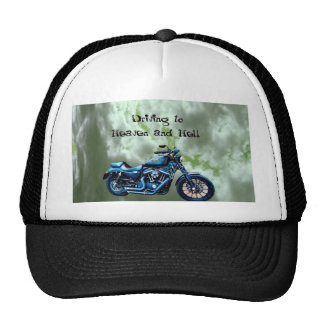Driving to Heaven and Hell Mesh Hats