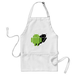 Droid being followed standard apron