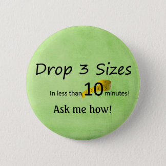 Drop 3 sizes -Ardyss 6 Cm Round Badge