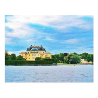 Drottningholm Palace in Sweden Postcard