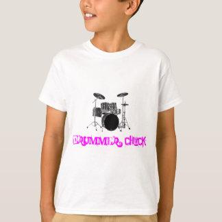Drummer Chick T-Shirt