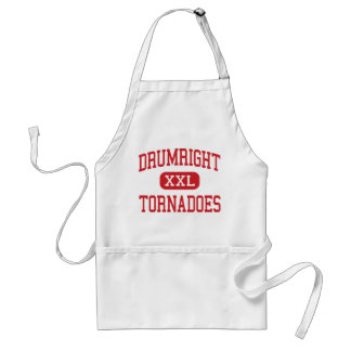Drumright - Tornadoes - High - Drumright Oklahoma Standard Apron