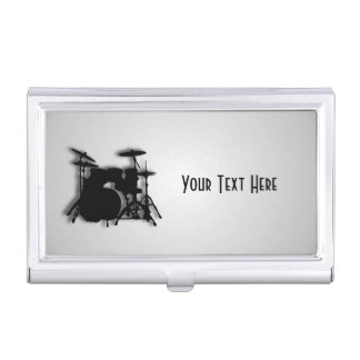 Drums Music Design Business Card Holders