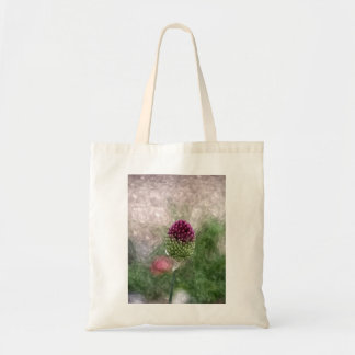 Drumstick Allium Totebag