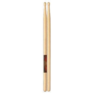 Drumsticks with artist logo