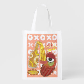 Drunk Mango Reusable Bag