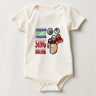 Drunken Karaoke Baby Bodysuit