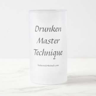 Drunken Master Technique Coffee Mugs