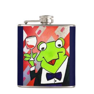Drunkin Frog Flask