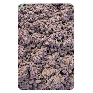 Dry Clay Soil Background Magnet