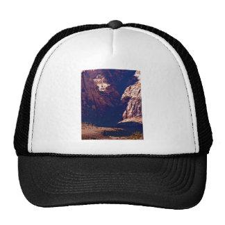 Dry Desert Waterfall Trucker Hats