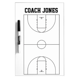 Dry Erase Board for Basketball Coach Dry-Erase Whiteboards