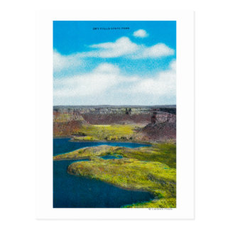 Dry Falls State Park, Grand Coulee Dam Postcard