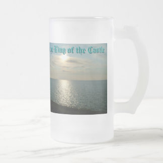 DSCF0004, Happy Father's Day, Jeff, To the King... 16 Oz Frosted Glass Beer Mug