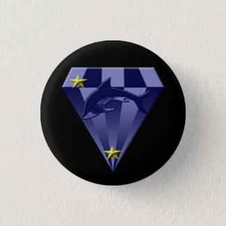 DSX: Star captain 3 Cm Round Badge