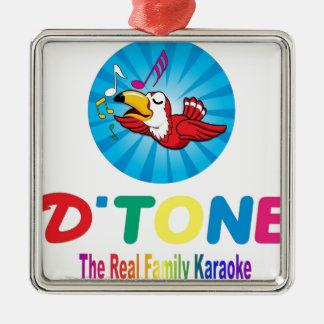 D'Tone Family Karaoke Souvenir Christmas Ornament