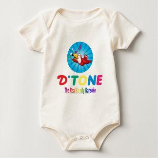D'Tone Family Karaoke Souvenirs Baby Bodysuit