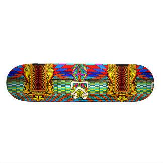 Duality - CricketDiane Geometrix Skateboard Design