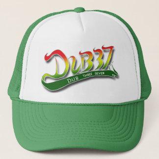 Dub Three Seven Green Trucker Trucker Hat