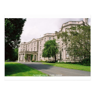 Dublin Ireland, Farmleigh House, Phoenix Park Postcard