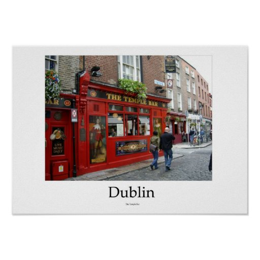 Dublin, Ireland - The Temple Bar Posters
