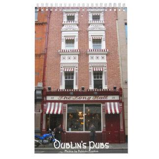 Dublin's Pubs Wall Calendar